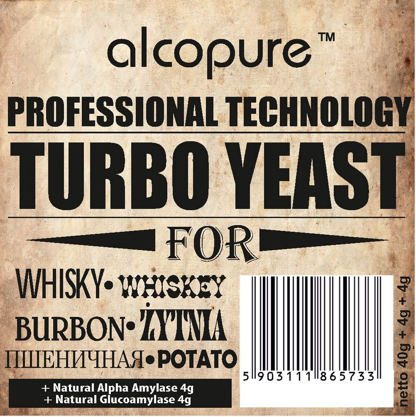 Turbo Yeast - Whisky